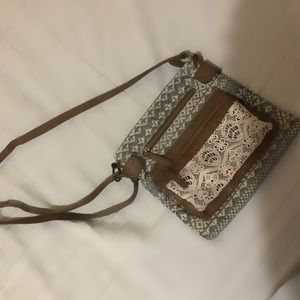 Claires crossbody purse